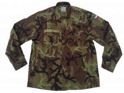 Košile 2000 se zeleným potiskem vz.95 AČR originál