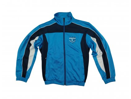 Bunda tepláková (mikina) 06 sportovní modrá AČR original