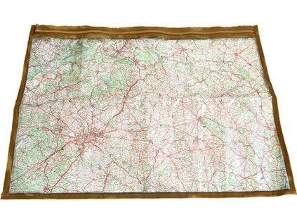 Folie k obalu na mapu MNS-2000 s béžovým potiskem vz.95 desert AČR