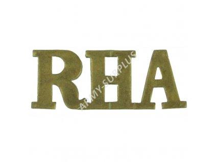 Odznak RHA britský Velká Británie Royal Horse Artillery