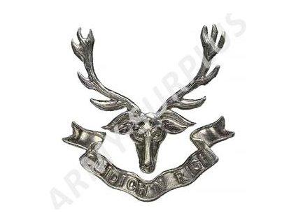 Odznak britský Velká Británie Royal Highlanders (Cuidich n Righ)