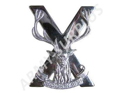 Odznak britský Velká Británie The Highlanders (Cuidich n Righ)