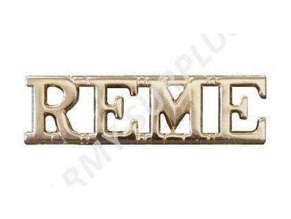 Odznak britský Velká Británie Royal Electrical and Mechanical Engineers (REME)