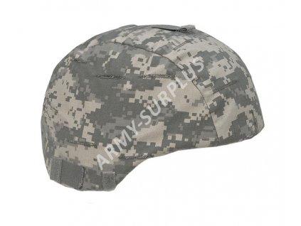Potah (povlak,obal,převlek) na helmu MICH US ACU UCP AT-Digital