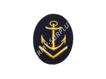 Nášivka námořní kotva NVA 6