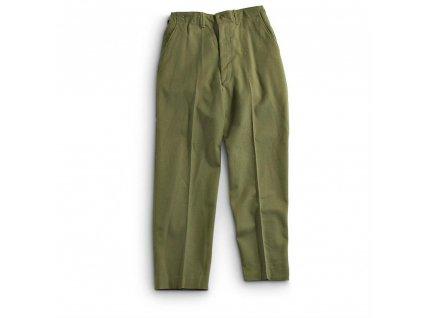 Kalhoty US M51 (Korea,Vietnam) vlněné oliv M-1951 originál