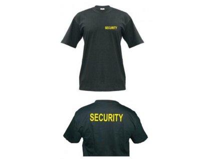 Tričko (triko) potisk SECURITY