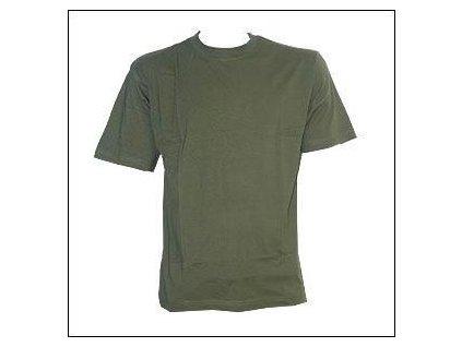 Tričko (triko) krátký rukáv oliv Glorious