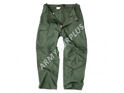 Kalhoty Vietnam Cargo Fostex předeprané oliv