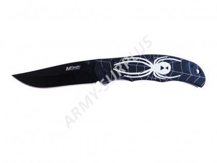 Nůž zavírací MTech Alum Spider Black MT-222BW