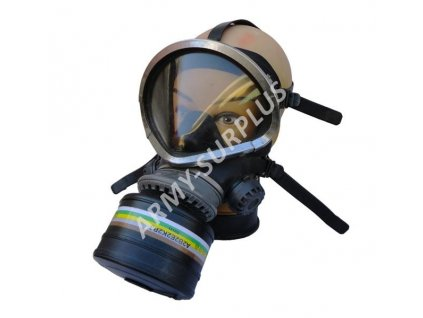 Maska plynová Drager černá s filtrem