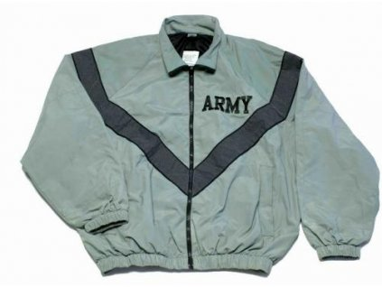 Bunda US MILITARY ARMY IPFU JACKET šedá (sportovní větrovka,šustákovka) originál
