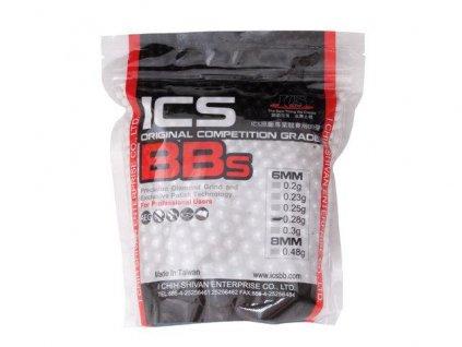 Kuličky BBs  ICS PRECISION 0.28g/3571 0,28g