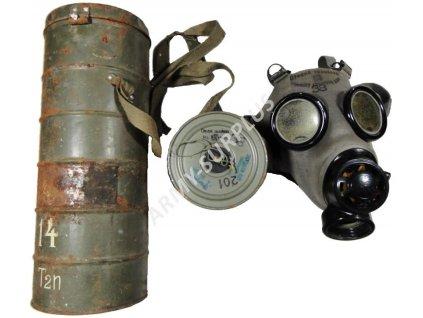 Plynová maska Československo Fatra FM-1c 1938