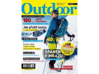 OUTDOOR magazín (časopis) - prosinec 2015 - leden 2016