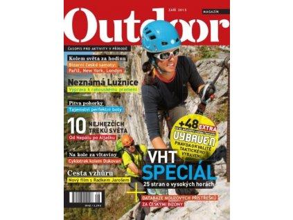 OUTDOOR magazín (časopis) - září 2015