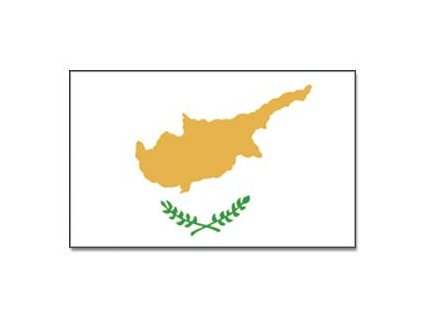 Vlajka 90x150cm Kypr č.104