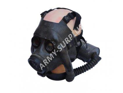 Plynová maska US NAVY NDO Mark 1 MIA1 Optical použitá 1941