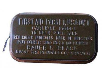 Lékárnička US M24 oliv plechová WWII originál