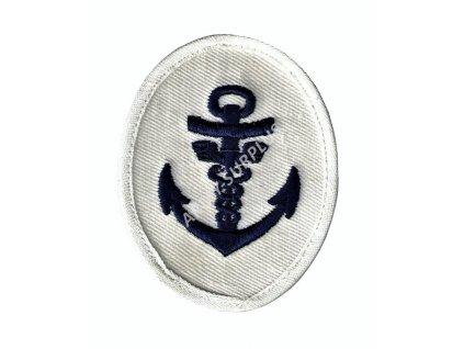 Nášivka námořní kotva NVA 12