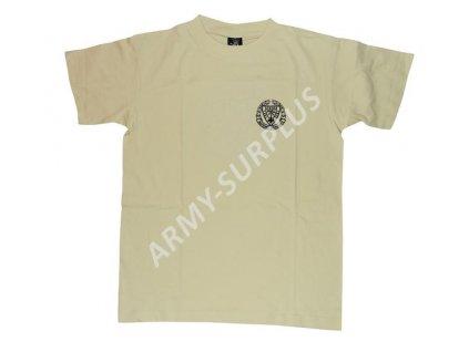 Tričko (triko) potisk Afrikakorps pouštní