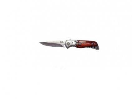 Nůž vystřelovací mini dřevo