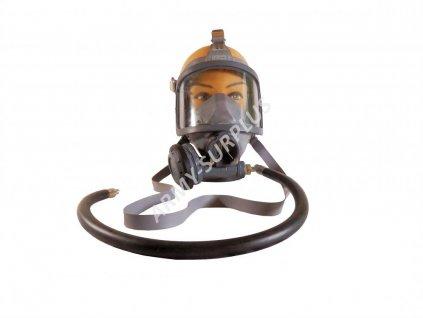 Plynová maska celoobličejová Spiromatic face Mask and breathing valve