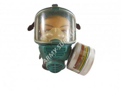 Plynová maska celoobličejová 5003 KEMIRA PROMASK s filtrem