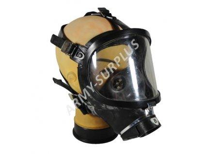 Plynová maska celoobličejová MT 848 JADZIA Faser černá s filtrem