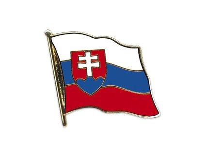 Odznak (pins)  20mm praporek Slovensko