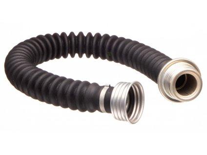 Vrapová spojovací hadice k plynové masce a filtru