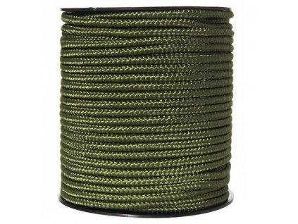 Šňůra univerzální 5mm oliv 1 m