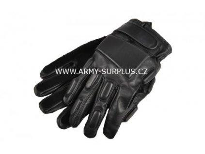 Rukavice POLICE kožené černé Texar