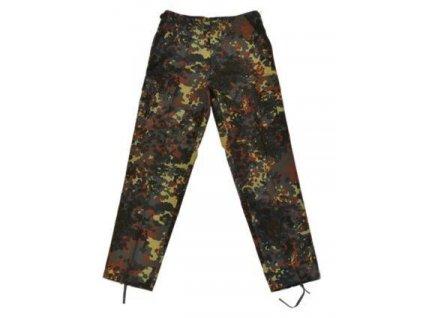 Kalhoty BDU flecktarn