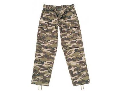 Kalhoty BDU camo ROTHCO