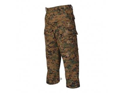 Kalhoty digital woodland Tru-Spec marpat