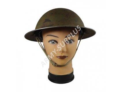 Helma (přilba) britská - Brodie/Tommy helmet Velká Británie