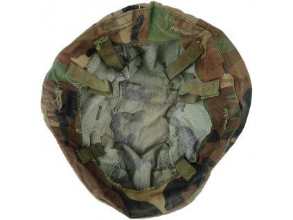 Potah (povlak,obal,převlek) na helmu US PASGT woodland originál