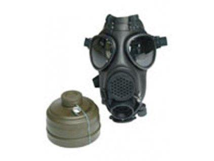 Plynová maska SM90 Švýcarsko