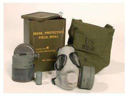 Plynová maska US M9A1