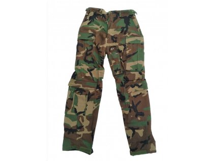 Kalhoty US nomex pilotní aircrew combat woodland originál použité