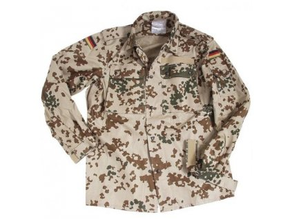 Blůza BW (Bundeswehr) pouštní tropentarn originál