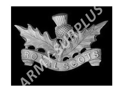 Odznak britský Velká Británie Royal scots