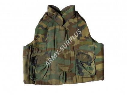 Neprůstřelná balistická vesta US PASGT woodland originál