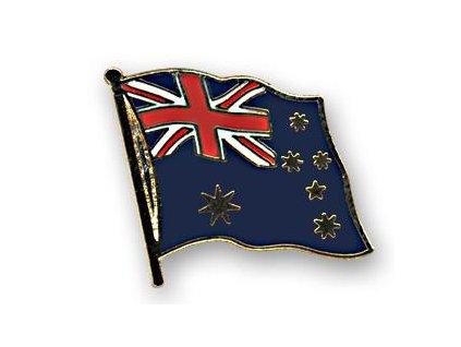 Odznak (pins) 20mm praporek Austrálie