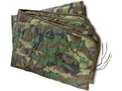 Vložka do ponča (liner,deka do poncha) US woodland originál