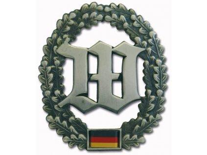 Odznak na baret BW (Bundeswehr) Wachbatallion