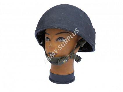 Helma (přilba) britská Mk6A Velká Británie kevlar balistická černá