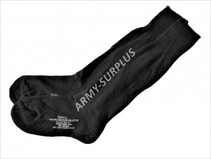 Ponožky US vlněné černé originál