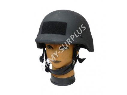 Helma (přilba) balistická kevlar Velká Británie černá